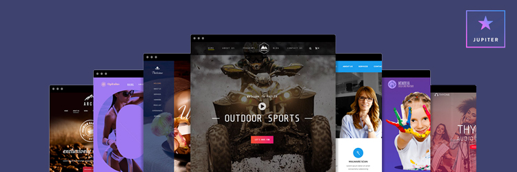 Jupiter multipurpose theme