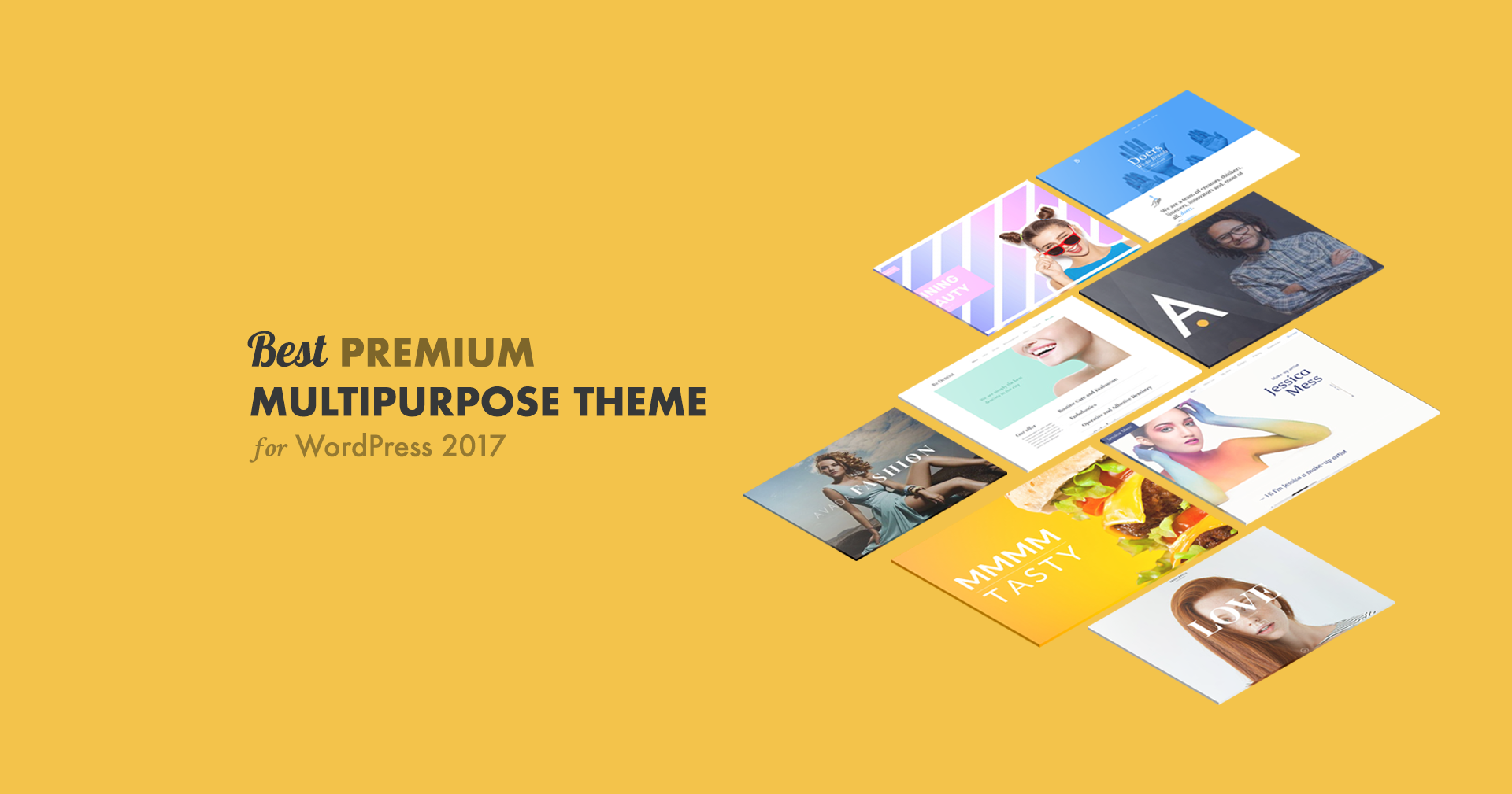 5 Best Premium Multipurpose Theme for WordPress 2017