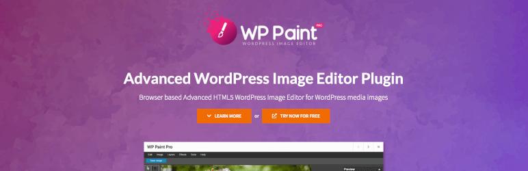 WP Paint Image Editor Plugin