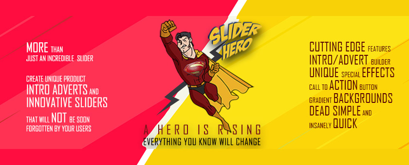 Slider Hero Responsive Slider Plugin