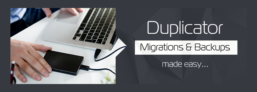 Duplicator WordPress Migration and Backup Plugin