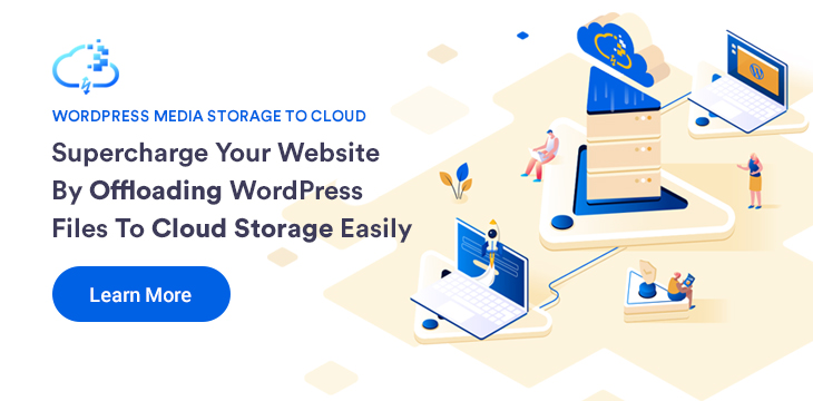 Media storage to cloud