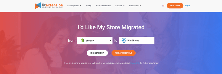 WordPress Migration for Shopping Carts