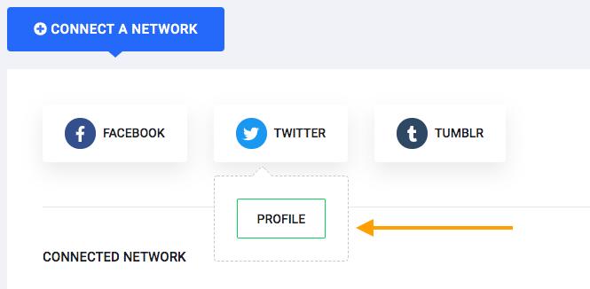 Add twitter Profile