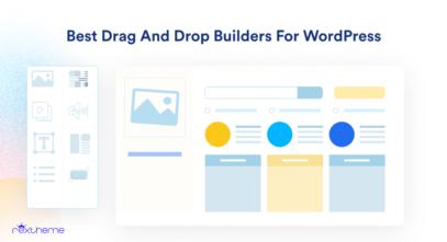 WordPress Best Drag and Drop Builders