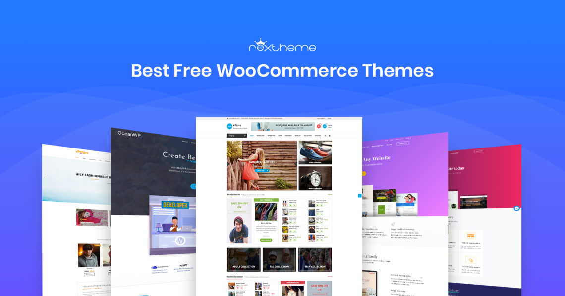 10 Best Free WooCommerce Themes (2019)