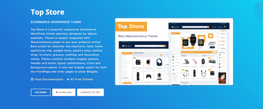 Top Store Theme Banner