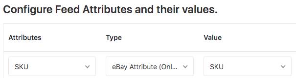 eBay attribute