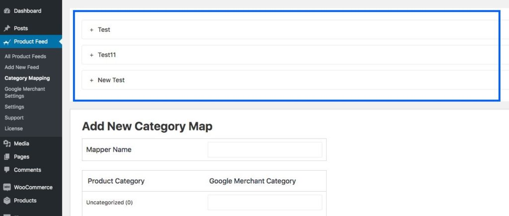 Category Mappers