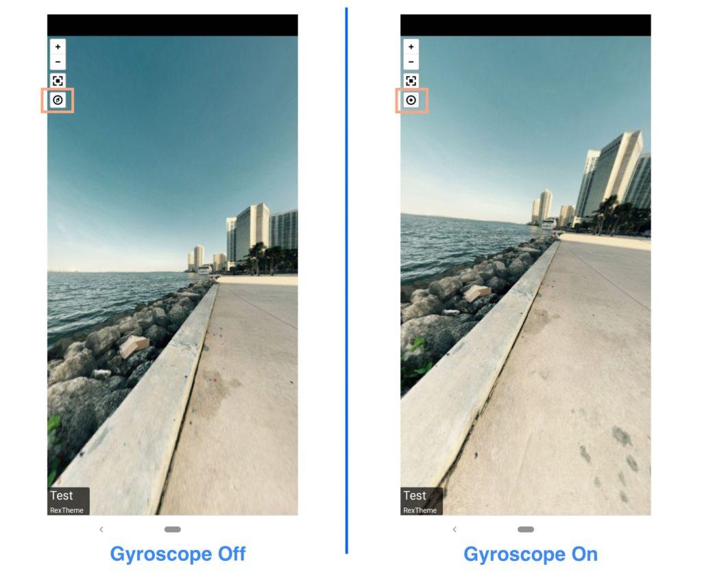 WPVR Gyroscope On or Off