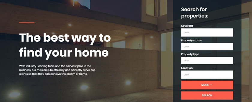 Home Pro - WordPress Real Estate Theme