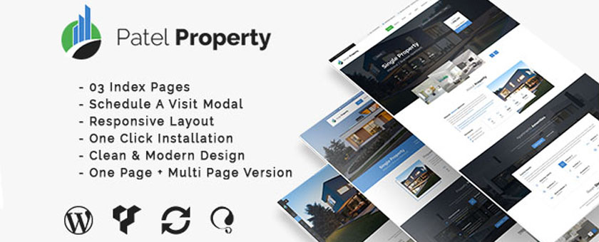 PatelProperty - WP Real Estate Theme