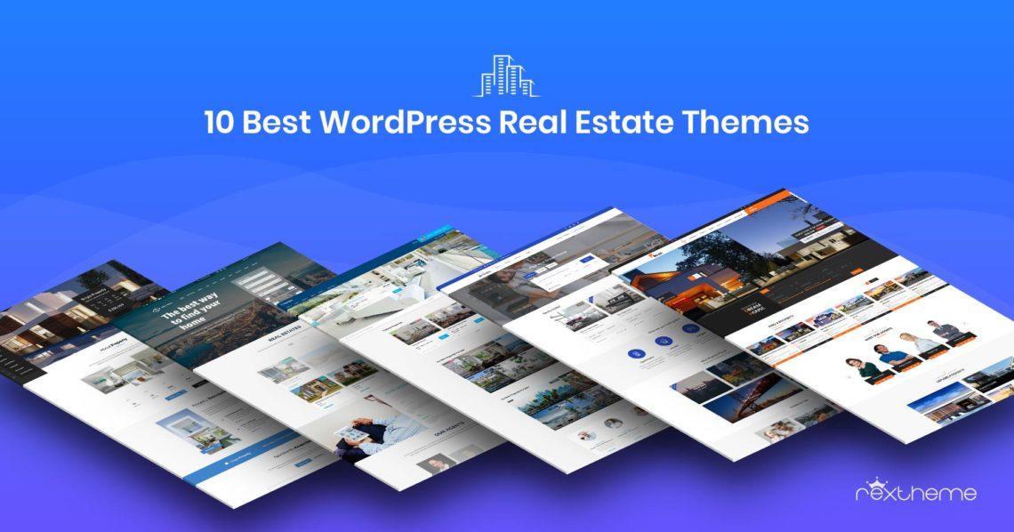 10 Best WordPress Real Estate Themes [2019]