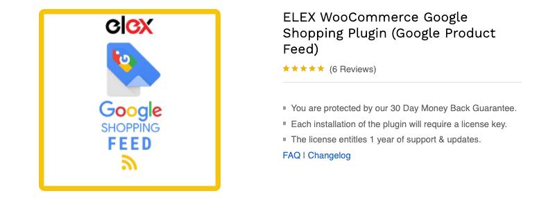 WooCommerce Google Shopping Feed