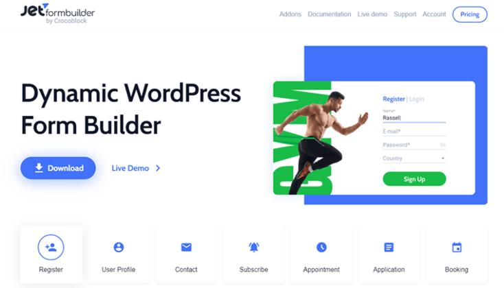 jetformbuilder WordPress Plugin