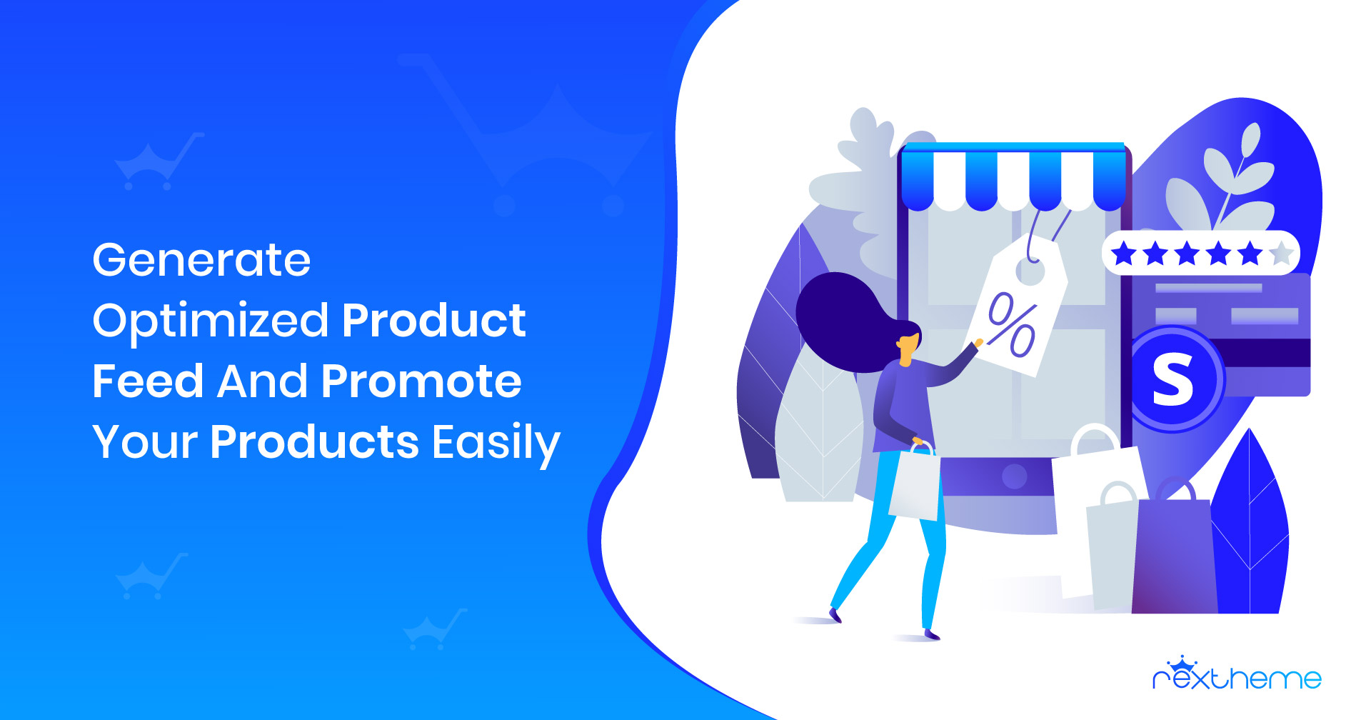Generate optimized WooCommerce product feed and promote products easily