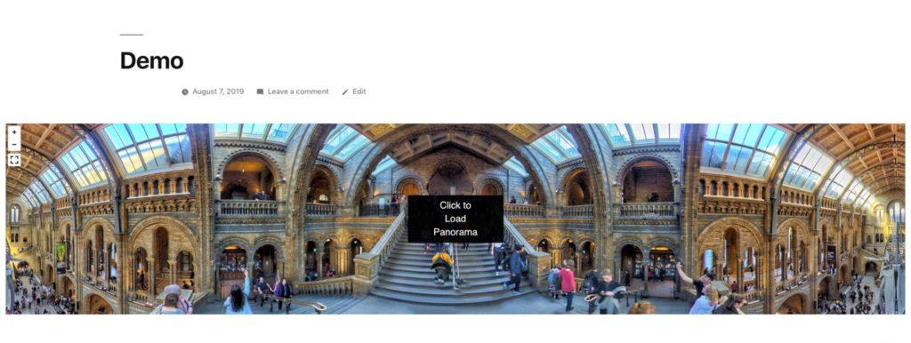 Fullwidth quality virtual tours