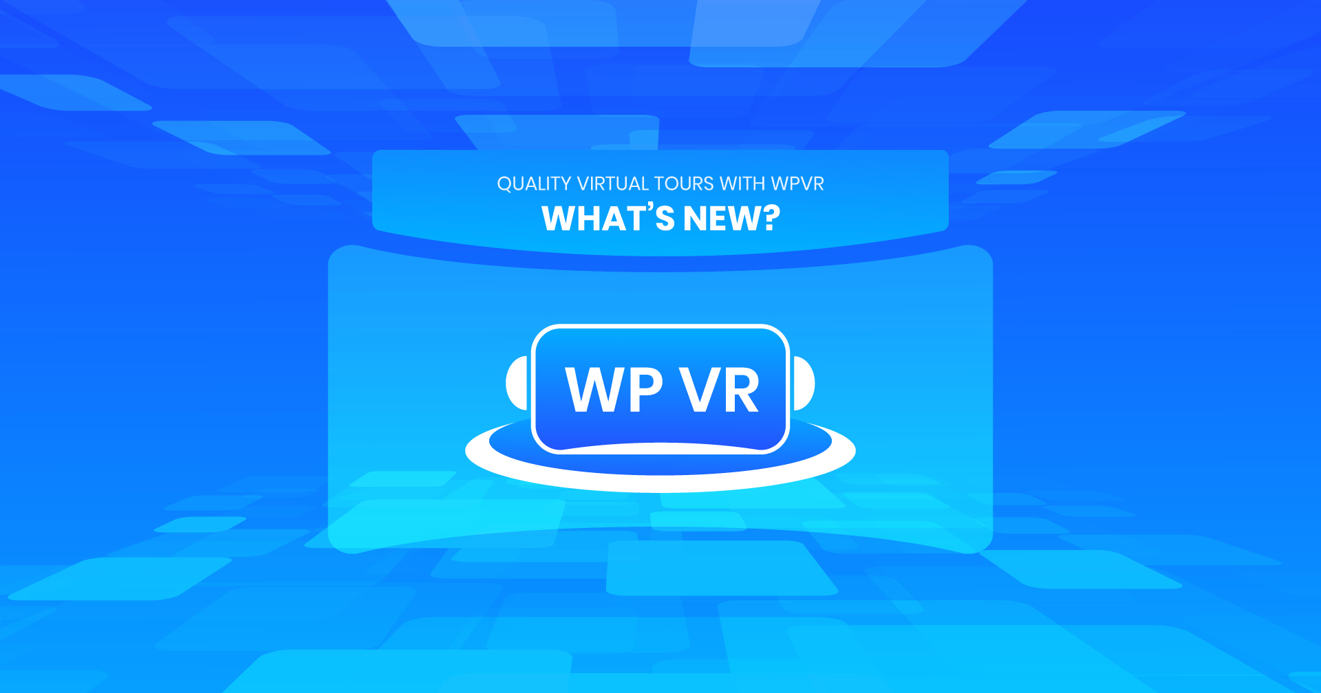 Quality Virtual Tours With WPVR