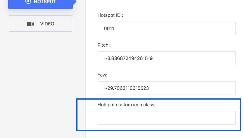 Hotspot Custom Icon Class