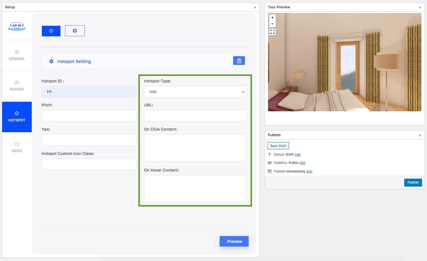 Info Type Hotspot