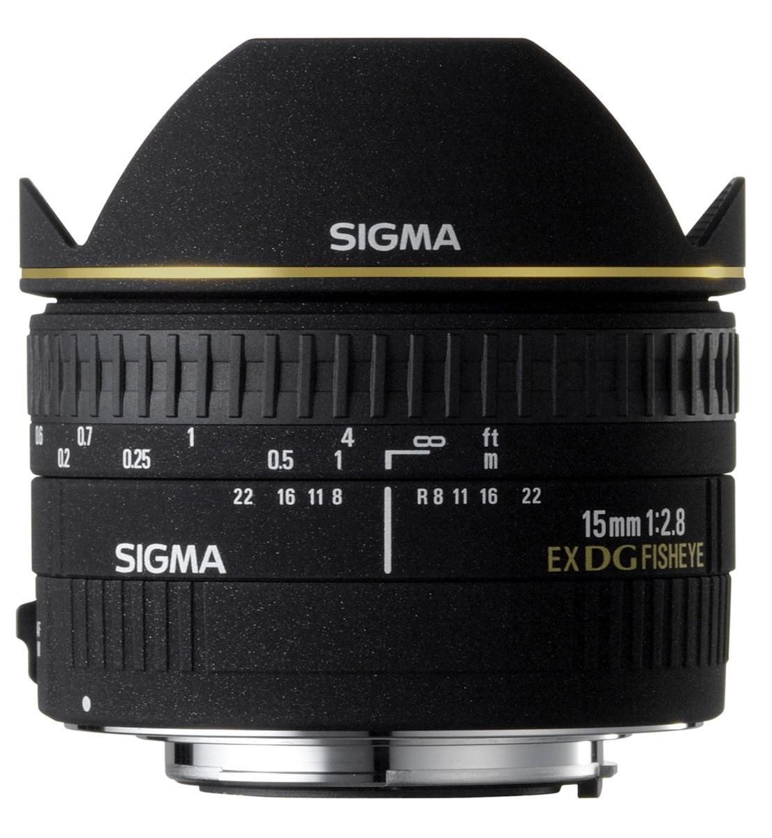 Signma Fish eye lens