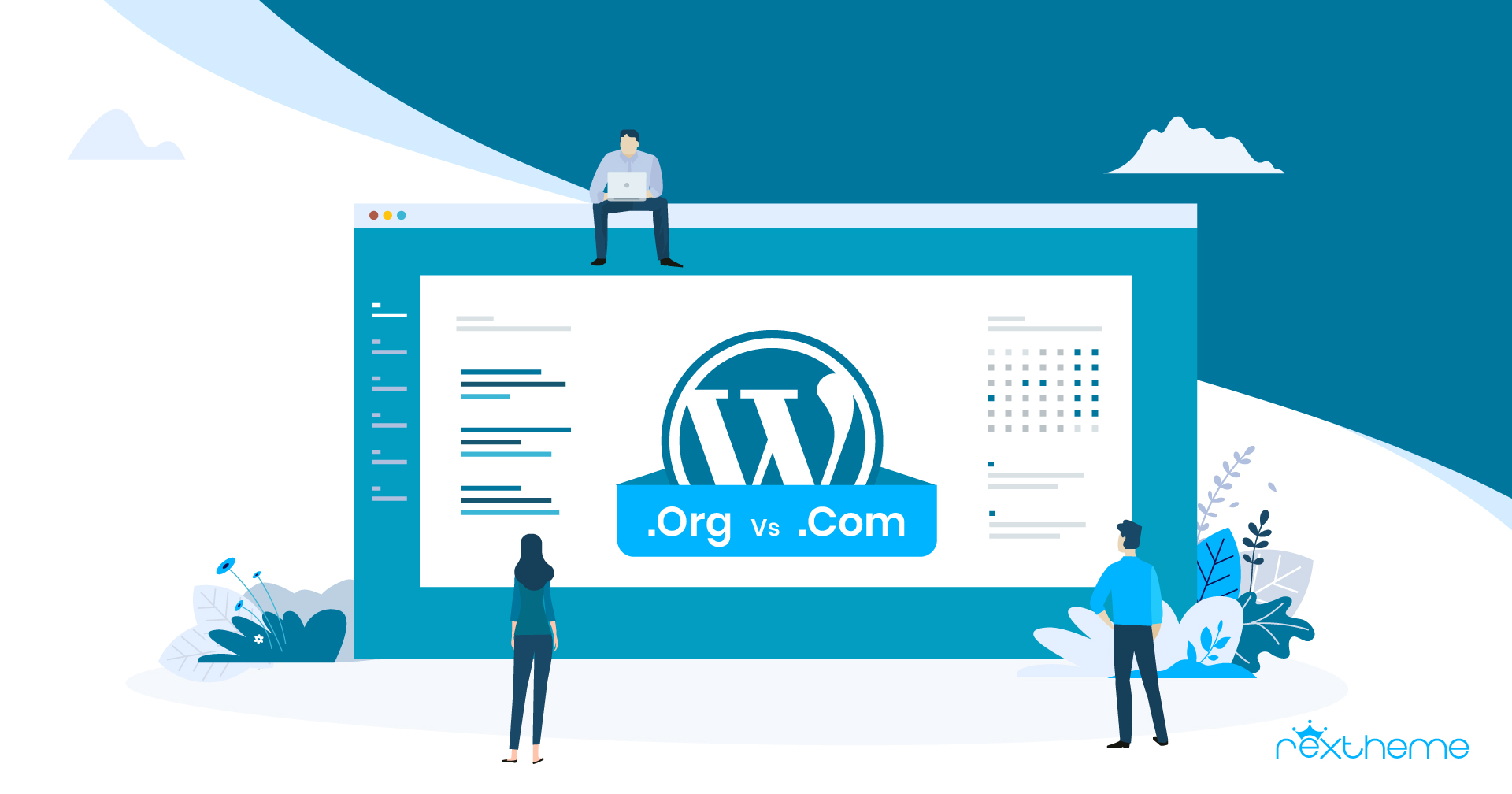 WordPress.com VS WordPress.org – Useful Review & Comparison [2020]