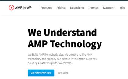 AMPforWP Banner