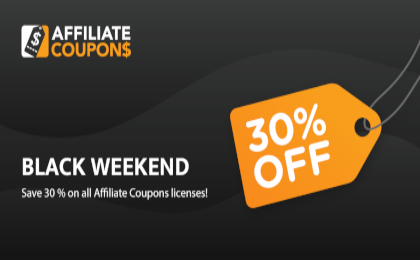 Affiliate Coupons Banner