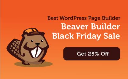 Beaver Builder BF Banner