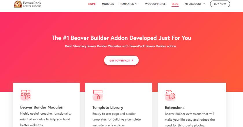 Powerpack beaver builder banner image