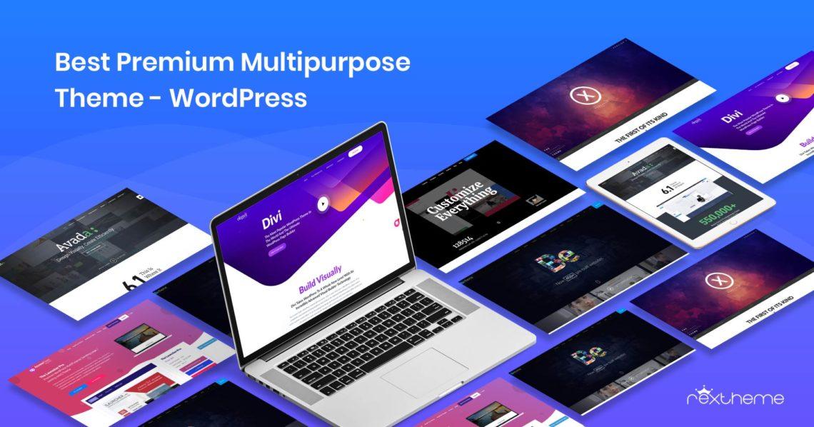 5+ Best Premium Multipurpose Theme – WordPress [2019]