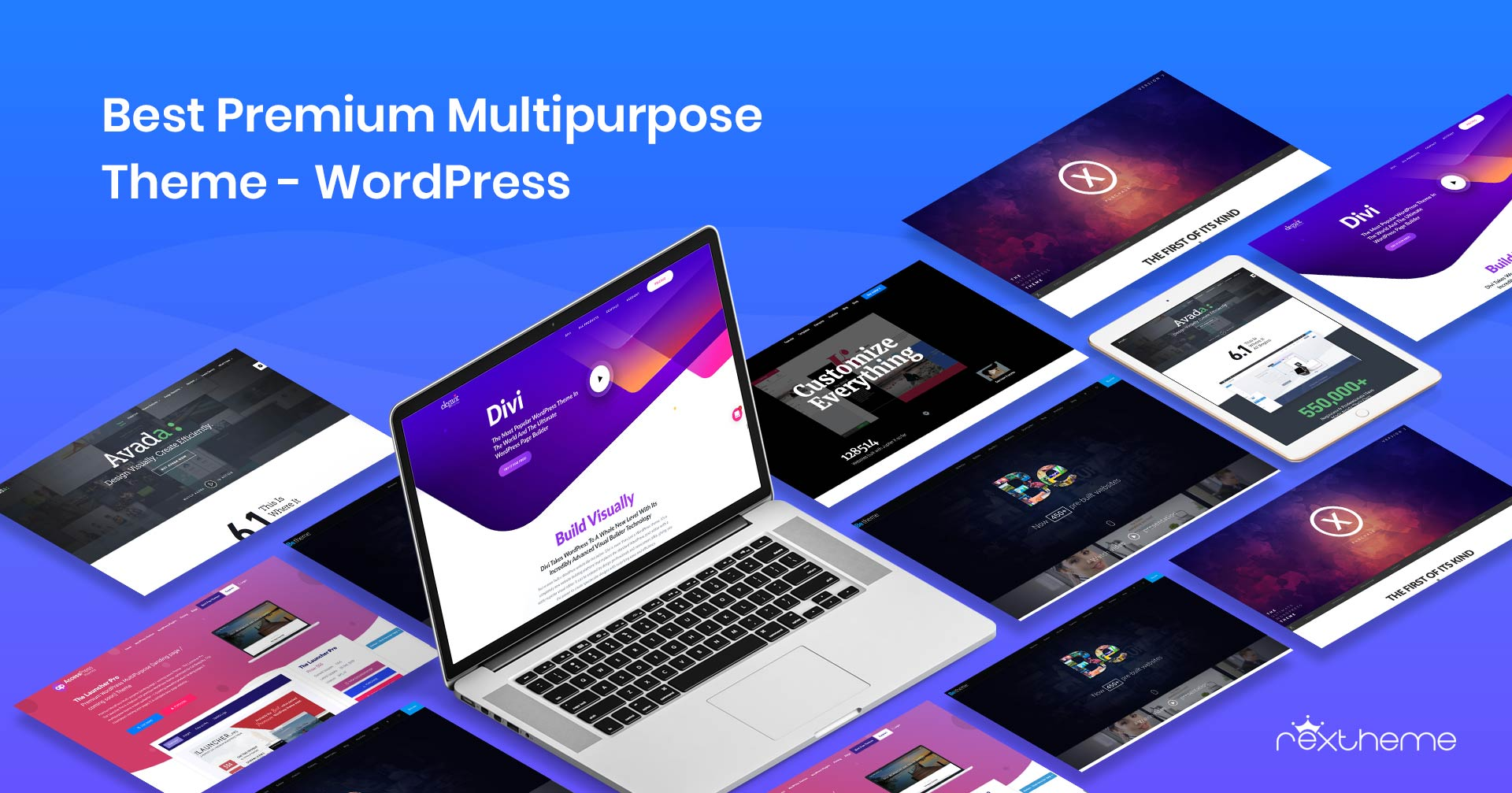 7+ Best Premium Multipurpose Theme – WordPress