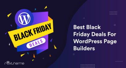 Black Friday Deals WordPress Page Builders
