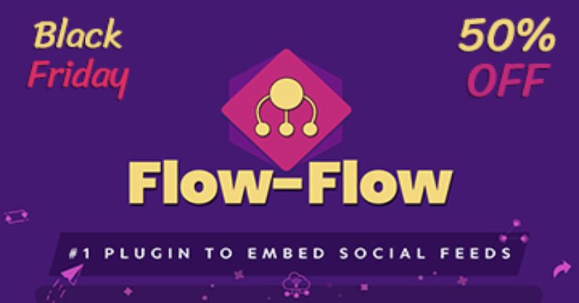 Flow Flow Black Friday Banner