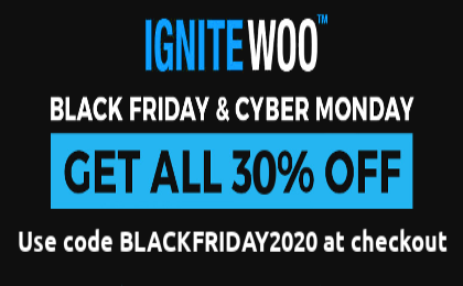 IgniteWoo Black Friday Discount Deals
