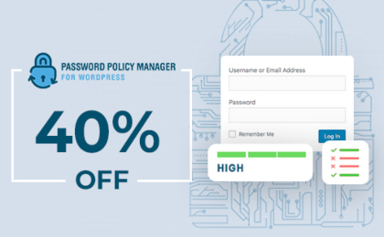 Password Policy Manager Banner