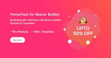 PowerPack for Beaver Builder Black Friday Deals