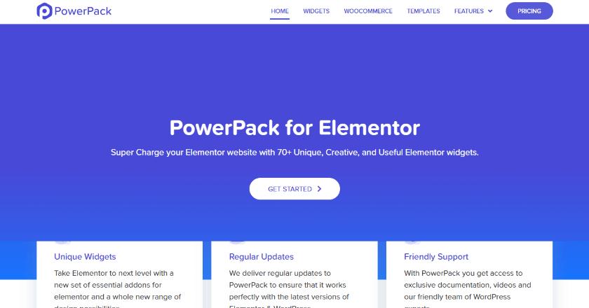 PowerPack for Elementor banner image