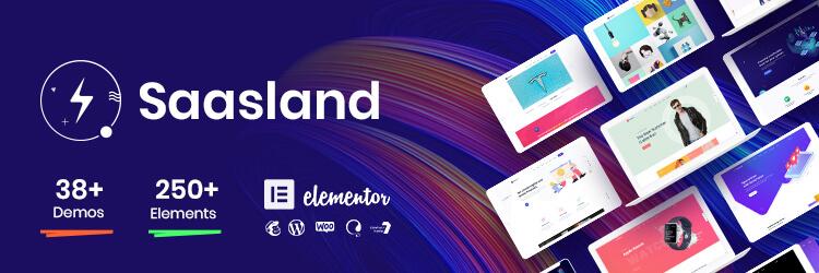 Saasland Multipurpose Theme