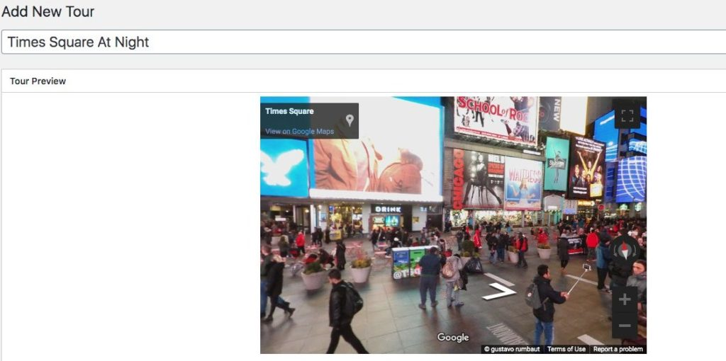 Preview Google Street View
