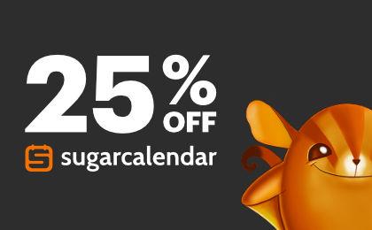 Sugar Calendar Banner