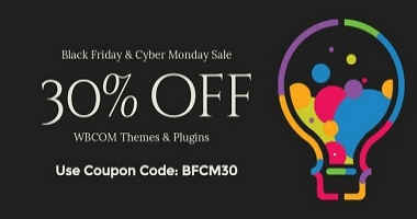 WBcom Design Black Friday Deals