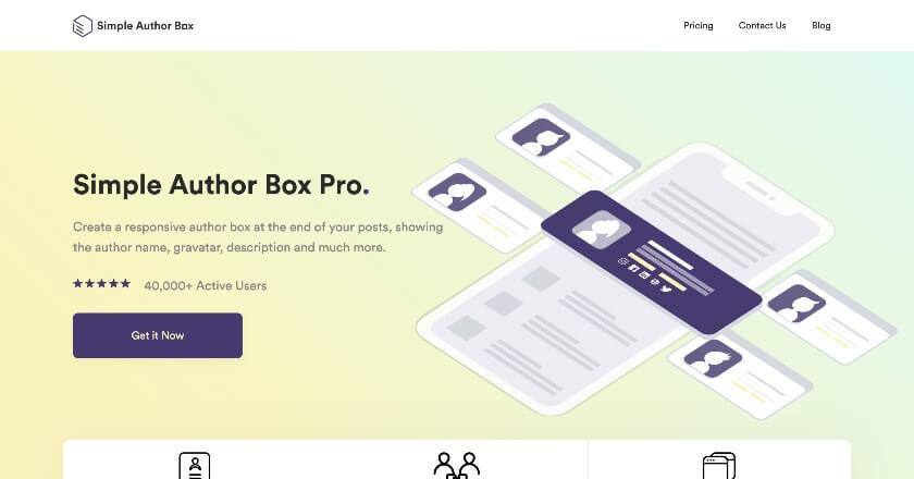 WPAuthor Box Banner