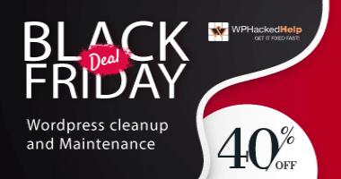 WP Hacked Help Black Friday Deals