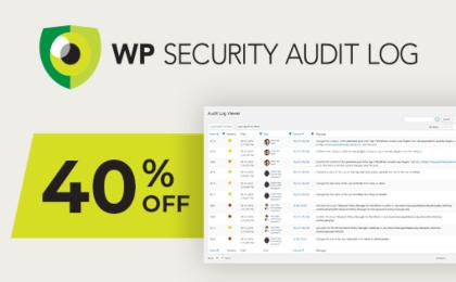 WP Security Audit Log Banner
