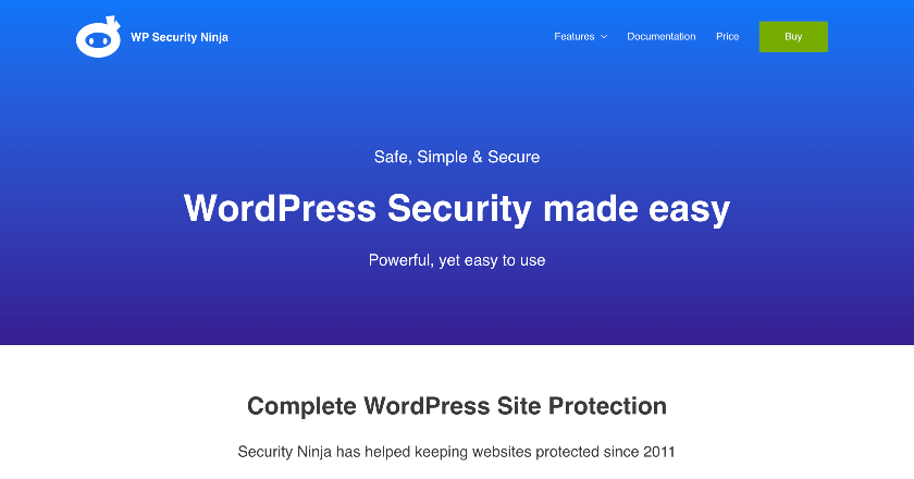 WP Security Ninja Banner Image