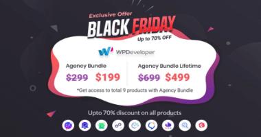 WPDeveloper Black Friday Deals