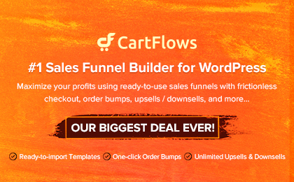 Cartflows Banner