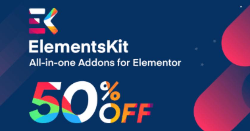 Elementskit Christmas Banner