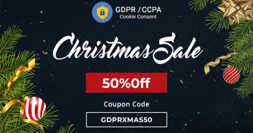 GDPR Christmas Banner